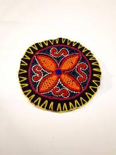 Excited to share the latest addition to my #etsy shop: FLOR Mandala Geométrico Parche Shipibo Bordado A Mano Decoración Boho Ropa Altar Tela Circular Diseño Eclectico Geometria Sagrada Ayahuasca. https://etsy.me/2HSwQhY