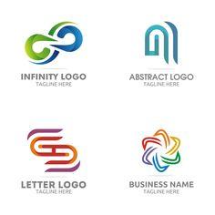 Free Logo Set – GraphicsFamily: Professional Logos, Illustrations, Mockups and Professional Logo, Free Logo, Logo Templates, Texts, Company Logo, Illustrations, Logos, Illustration, A Logo