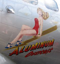 pin-up girls and bomber planes