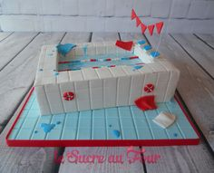 Swimming pool cake | Le sucre au four
