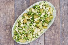 Kartoffelsalat med blomkål og urter - en skøn sommersalat - Life By Nan