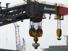Crane of the Aegir - Port of Schiedam