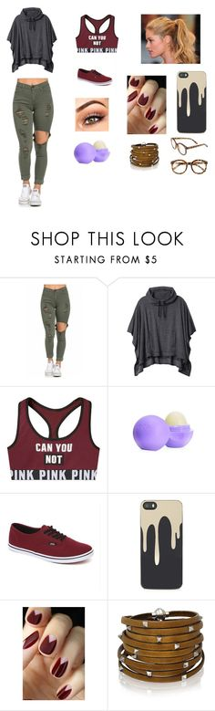 """""""Untitled #15"""" by gissellebeltre on Polyvore featuring Champion, Athleta, Eos, Vans, Zero Gravity, Sif Jakobs Jewellery, FE NY, women's clothing, women's fashion and women"""
