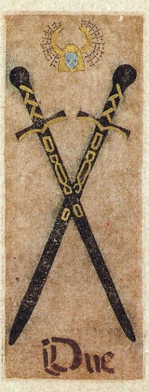 Belle Constantinne - Two of Swords - La corte dei Tarocchi