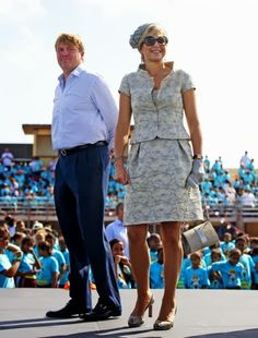 King Willem Alexander and Queen Maxima visits Aruba, Day 8 Netherlands Antillen introductory visit, 21 november 2013