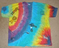 Wiz Of Dox Dachshund Wiener Dog Rainbow Tie Dye by SassySashadoxie #tiedye #giftfordoglover