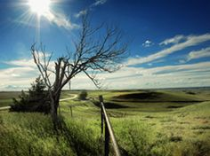 Nebraska prairie...