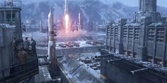 ArtStation - Commercial Launch Site, Nick Gindraux