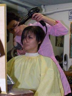 Nylons, Blouse Nylon, Curlers, Brushing, Hairdresser, Overalls, Hair Beauty, Blouses, Cap
