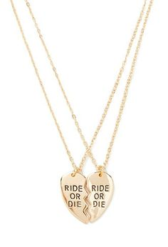 Ride or Die Necklace Set | Forever 21 - 1000142869