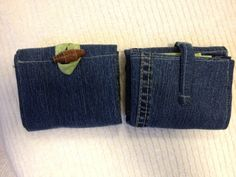 Tea wallet trifold small 6 pocket. Tea by FruitOfLifeCreations
