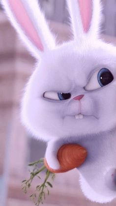 Conejito von Leslie auf We Heart It entdeckt – funny wallpapers backgrounds Cute Cat Wallpaper, Bear Wallpaper, Cute Wallpaper Backgrounds, Frozen Wallpaper, Rabbit Wallpaper, Screen Wallpaper, Galaxy Wallpaper, Wallpaper Quotes, Disney Phone Wallpaper