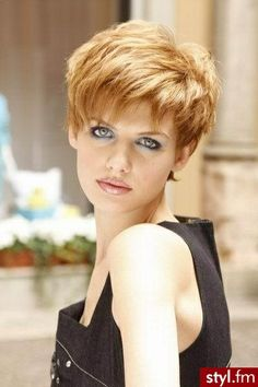 Choppy Bob Hairstyle. Love this style and color!