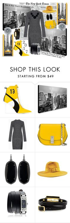 """""""I Don't Make Resolutions, But I Do Like To Make Promises I Plan To Keep"""" by sharee64 ❤ liked on Polyvore featuring Puma, Trademark Fine Art, BCBGMAXAZRIA, Marc Jacobs, Kendra Scott, Brixton, Givenchy and McQ by Alexander McQueen"""