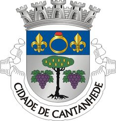 Municipality of Cantanhede, Coimbra, Portugal (Area Km²) Coat Of Arms, Symbols, Portugal Flag, Flags, Seals, Past, Christ Cross, Badges, Humor