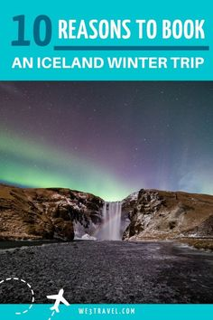 Which is better, to  visit Iceland in the winter or the summer? Both have advantages, but an Iceland winter trip offers opportunities like ice caves, northern lights, and blue glacier hikes. If you are planning an Iceland vacation, find out why winter can be a great time to visit.