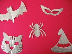 ●切り紙で作るハロウィンのカード - クモ - - 桜まあち の 切り紙 Blogっこ ☆