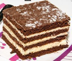 Csányi mézes Hungarian Desserts, Hungarian Cake, Hungarian Recipes, Cookie Recipes, Dessert Recipes, French Patisserie, Sweet And Salty, Creative Food, Cake Cookies