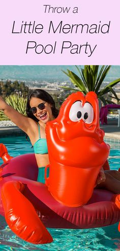 Throw a Little Mermaid-themed pool party this summer — here are all the mermaid pool floats and genius mermaid party ideas you can handle.