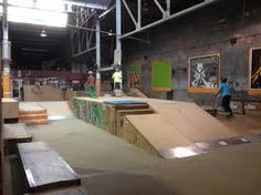 Image result for indoor skatepark