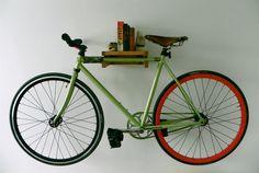 Bike storage cool design.