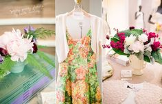 The @The Everygirl Event at BHLDN Chicago // Florals by @Natalie Walsh from #hello #darling