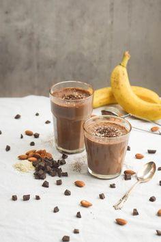 Chocolate Tahini Smoothie   Friday Favorites