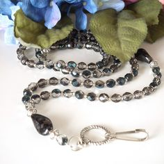 Black and Silver - lovely for anything.