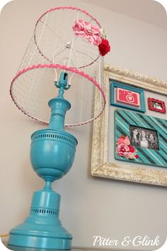 Use it to clip on stuff instead of flowers...like he picture frame idea too.