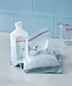 Cómo hacer una bolsa de hielo para tratar dolencias. - Vida Lúcida