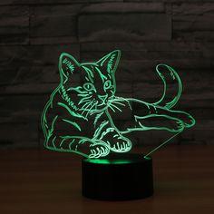 Giveaway – 3D Cat Desktop LED Light