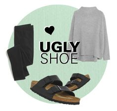 """Ugly Shoes"" by lxvxughn ❤ liked on Polyvore featuring Birkenstock, Madewell, Vince and uglyshoes"