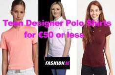 Teen Designer Polo Shirts for €50 or under