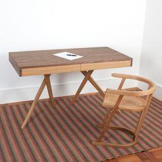 Legs Crossed Desk