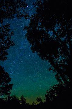 Starry Sky at Rahn Lake, SD