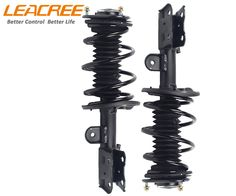 LEACREE Pair Front Complete Shock Strut Absorbers/Dampers for Toyota Prius 10-13 #LEACREE