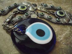 Your place to buy and sell all things handmade Greek Evil Eye, Hamsa Hand, Washer Necklace, Jewellery, Eyes, Trending Outfits, Unique Jewelry, Handmade Gifts, Kid Craft Gifts