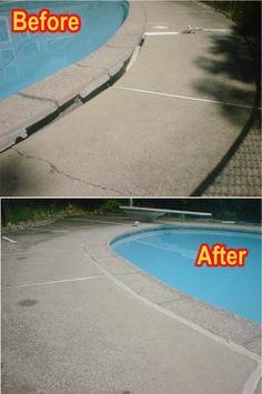 NJ Concrete Repair - Concrete Mudjacking NJ, Leveling NJ & Raising NJ