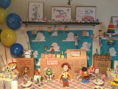 TOY STORY PARTY  / DIY / free printables