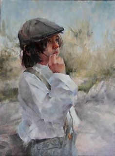 """Learn about artist Michael Maczuga: He became a member of the Oil Painters of America in 2004. He is also the founding director of the one and only major plein aire painters show in Scottsdale, """"The Wild Wild West Show,"""" an invitational and juried show. The plein aire show is extremely important to Michael because it allowed him to incorporate a mentorship initiative for local high school art students. http://michaelmaczuga.com"""