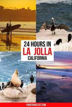 Escape to La Jolla California for a relaxing vacation by the shore. When you have your fill of the beautiful beaches and waterscapes head into town for scrumptious meals and shopping in unique local shops. Art galleries filled with everything from modern