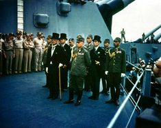 The Surrender of Japan Aboard the USS Missouri - All YOU Need To Know! - https://www.warhistoryonline.com/featured/the-surrender-of-japan-aboard-the-uss-missouri.html