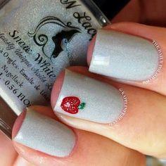 Cute school nails.