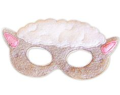 Items similar to Princess Felt Mask Embroidery Design - Complete set - 5x7 Hoop or Larger on Etsy