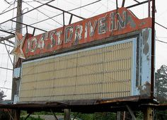 Drive In Theater Neon