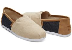 With more cushioning than ever, our Classic Alpargatas are a must-have. Featuring a natural hemp and navy denim upper with a faux leather trim, the easy slip-on style goes with almost everything in your closet.