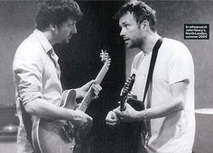 Damon Albarn and Graham Coxon of Blur: Uncut - December 2009