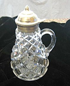 Victorian syrup pitcher for sale at More Than McCoy on TIAS, http://www.morethanmccoy.com