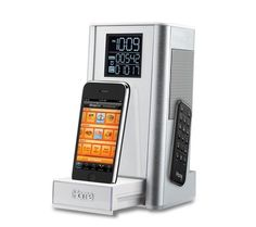 iHome ipod dock - iP39 / Kitchen timer and FM Clock Radio Speaker System for iphone/ipod