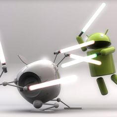 Android iOs Jedi fight